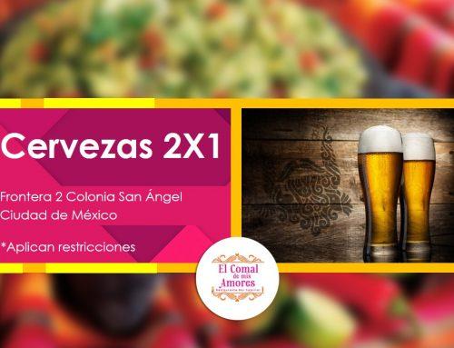 Viernes de Cervezas al 2X1