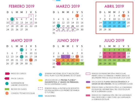 ¿Cuándo Cae Semana Santa 2019? Fechas de Vacaciones Escolares