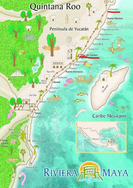 Riviera Maya ¡Conoce sus pueblos!